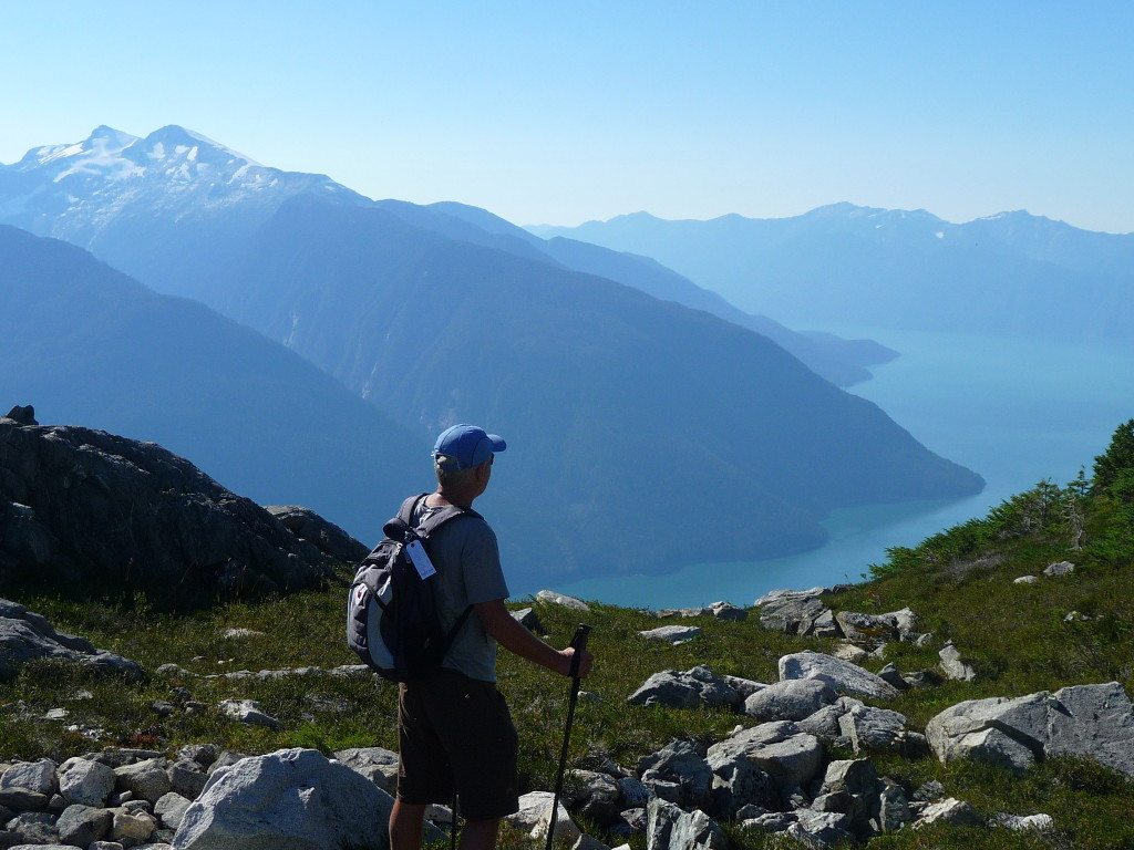 Bella Coola BC Alpine Hiking