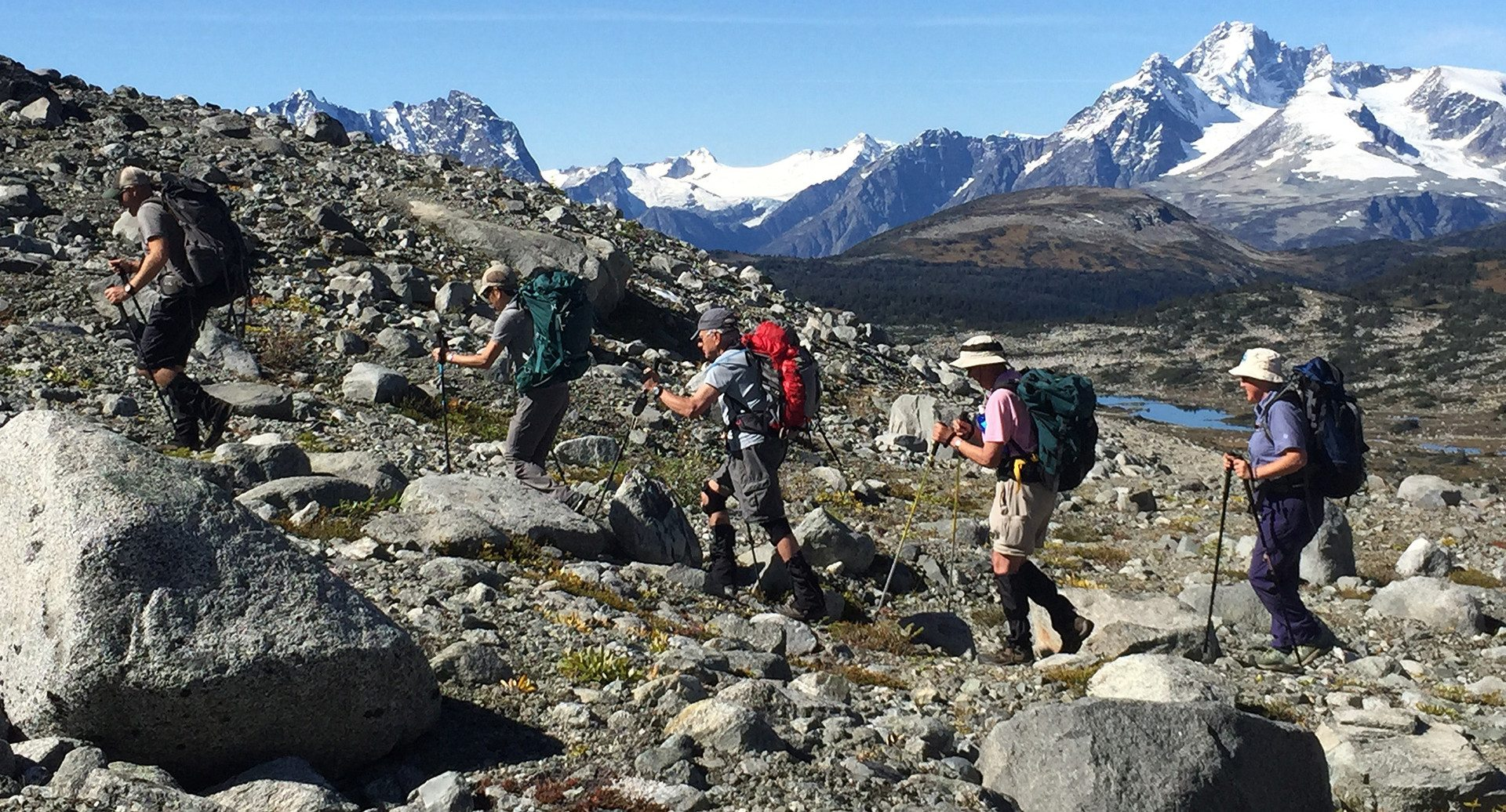 Hiking Tours British Columbia