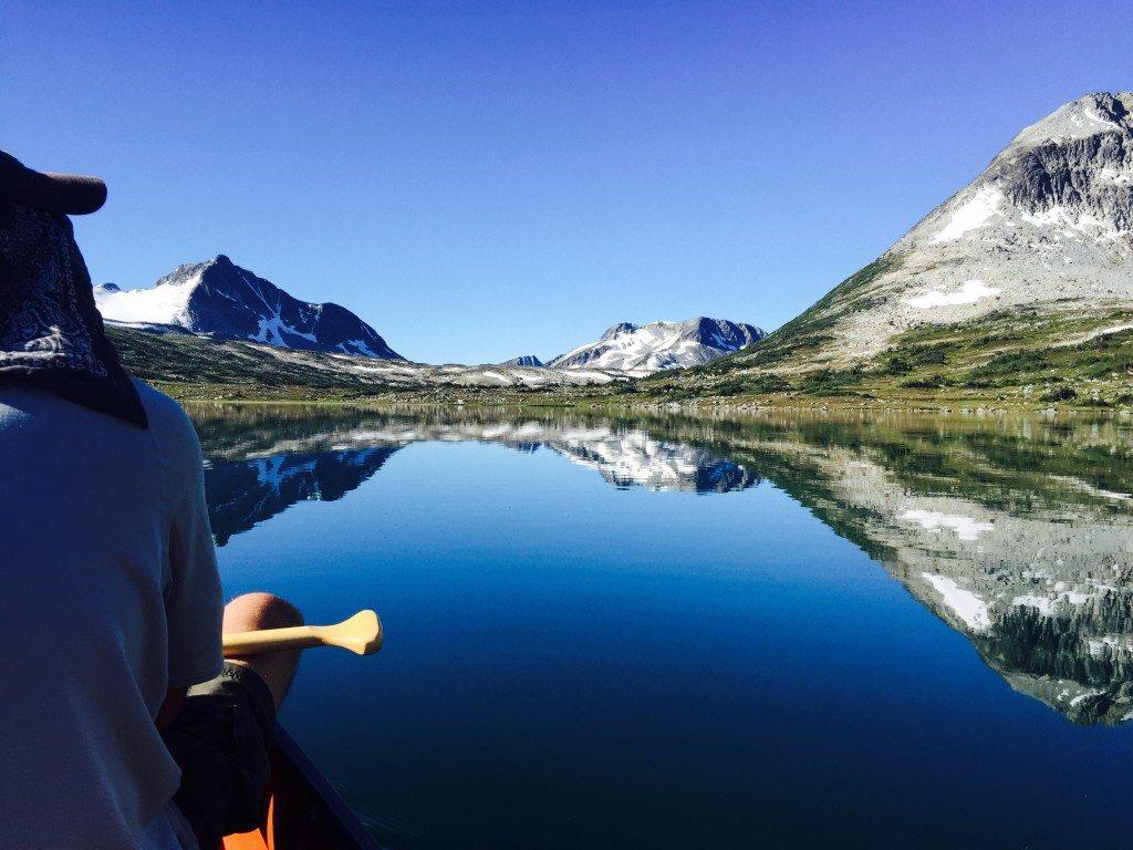 Alpine Lake Canoeing Yoho Adventures